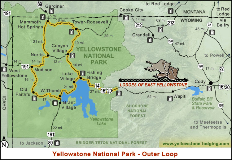 Yellowstone Scenic Drives